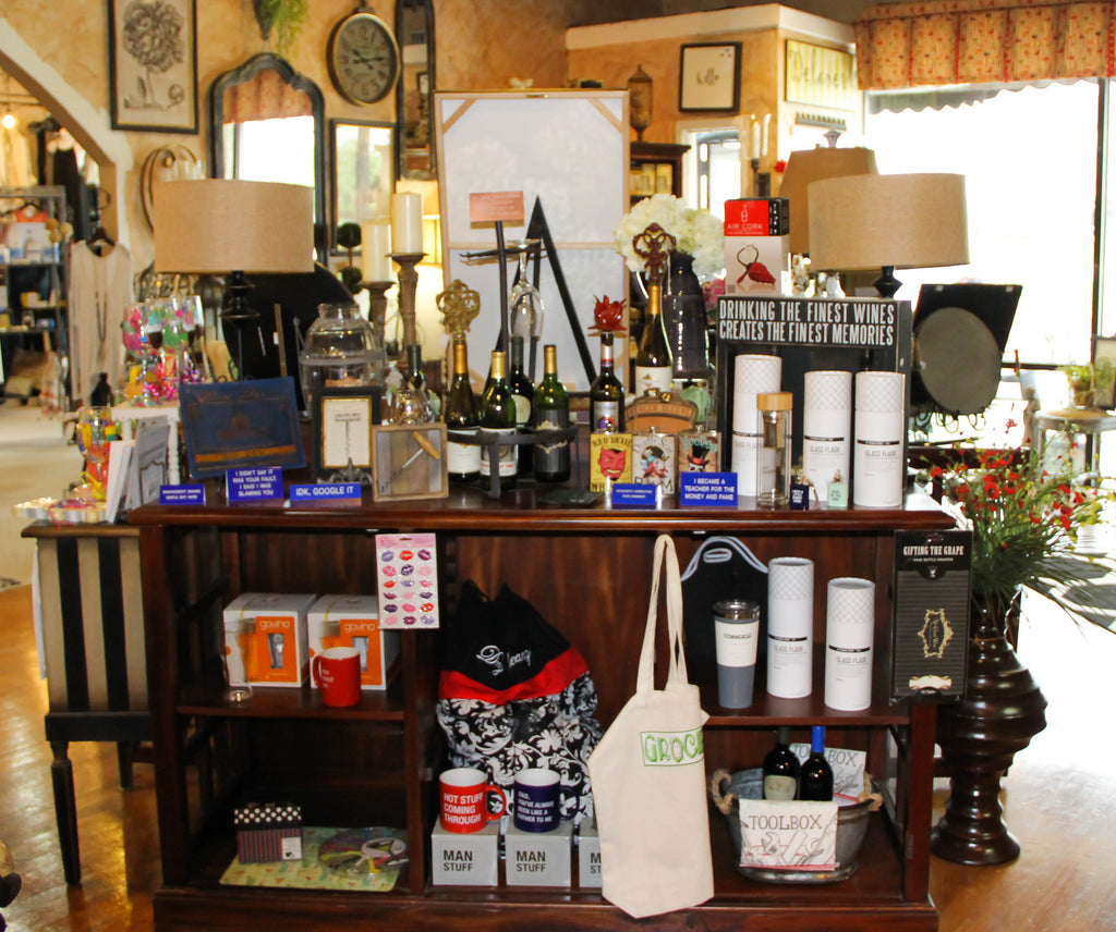 Delaneys Gifts for any occasion, signs, glassware, lamps