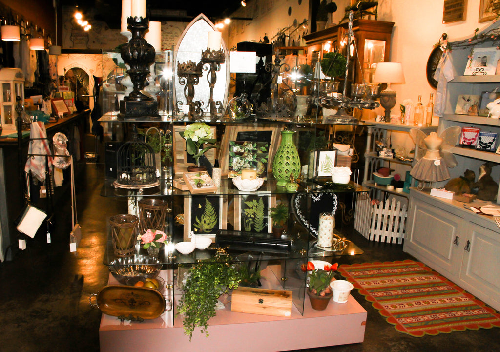 Delaneys Home Decor, Topiaries, accents beautifully decorated