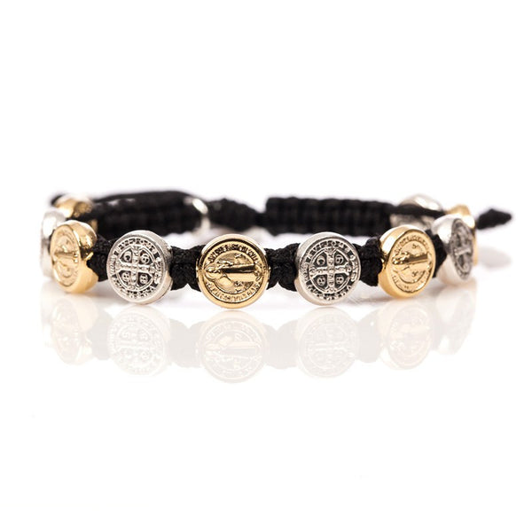 Benedictine Blessing Bracelet – Mixed Medals
