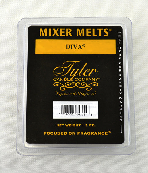 Tyler, Candle, Gifts, Mixer Melts, Diva