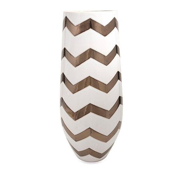 Essentials Celebrations Chevron Vase