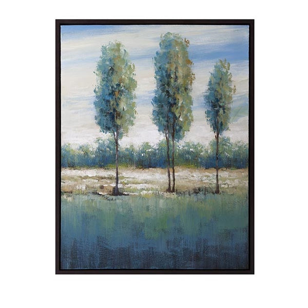 Fontana Framed Oil Painting