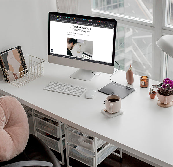 3 Tips for Creating a Home Workspace