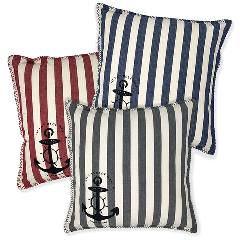 Nautical Striped Pillows