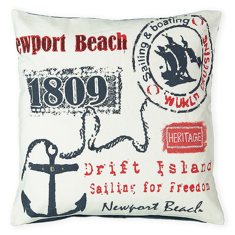 Newport Beach pillow