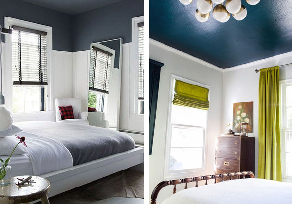 Painted Ceilings Small space bedrooms