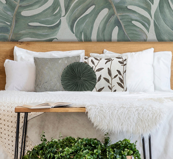 Layered Cushions in the bedroom