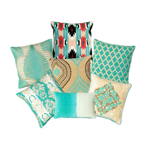 Aqua Collection Pillows