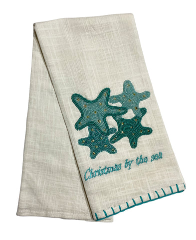 "Starfish Cluster Kitchen Towel, 20"" X 28"" Mod Lifestyles"