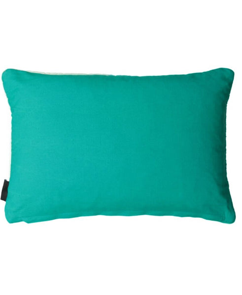 "Ombre Kantha Stitch Velvet Decorative Pillow, 14 X 22"" Mod Lifestyles"