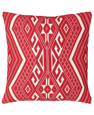 "Puebla Embroidery Decorative Pillow, 18"" X 18"""