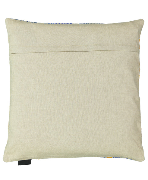 "Moroccan Fan Embroidery Decorative Pillow, 20"" X 20"" Mod Lifestyles"