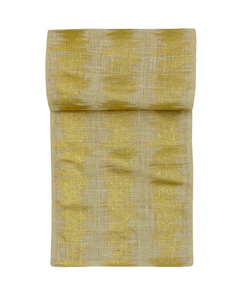 "Allover Metallic Print Table Runner, 13"" X 72"" Mod Lifestyles"