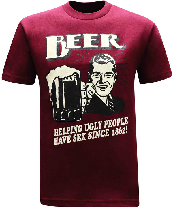 Beer Since 1862 Men's Funny Drinking T-Shirt - tees geek