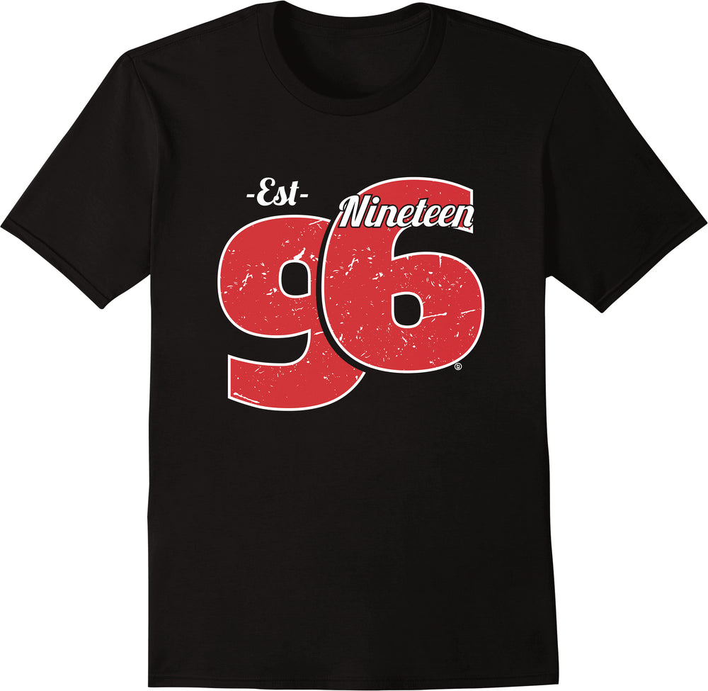 Established Nineteen 96 - Red Print
