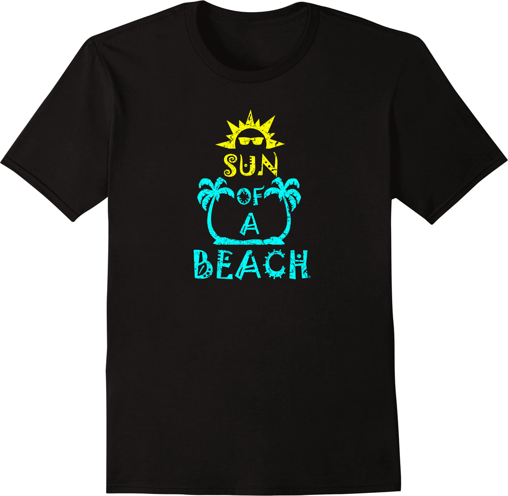Sun Of A Beach - Distressed Print