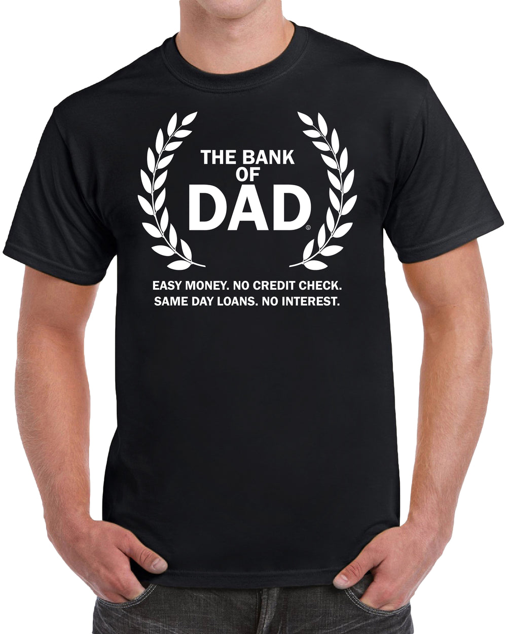 The Bank of Dad Easy Money No Credit Check Same Day Loans No Interest