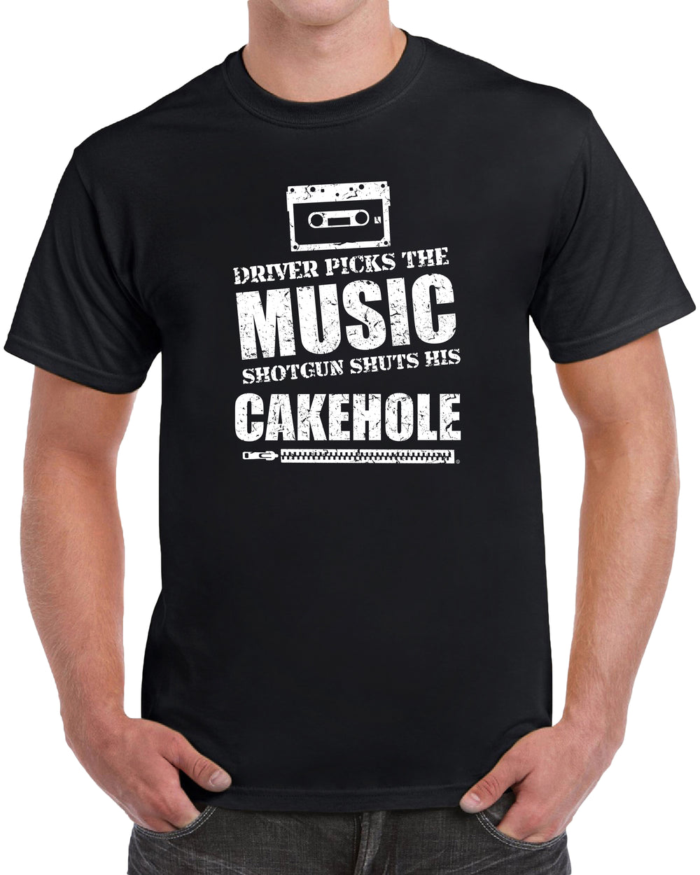 Driver Picks The Music Shuts His Cakehole