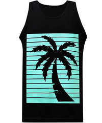 California Republic Turquoise Palm Tank