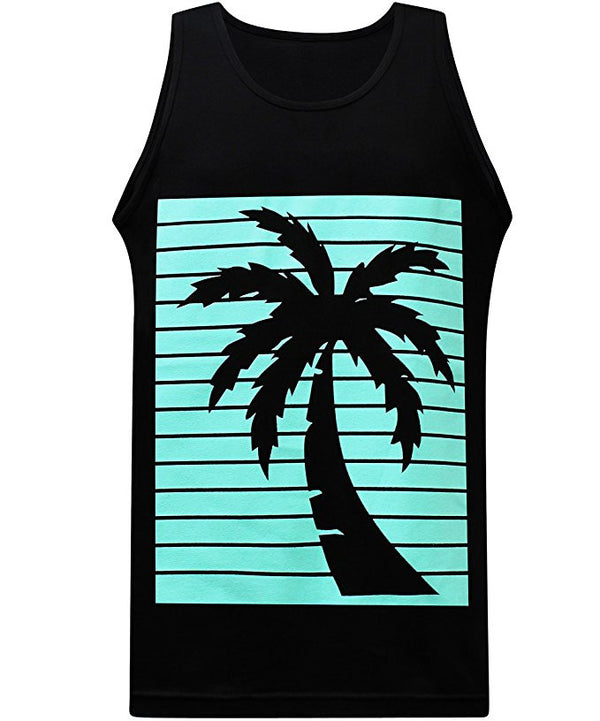 Turquoise Palm Tank