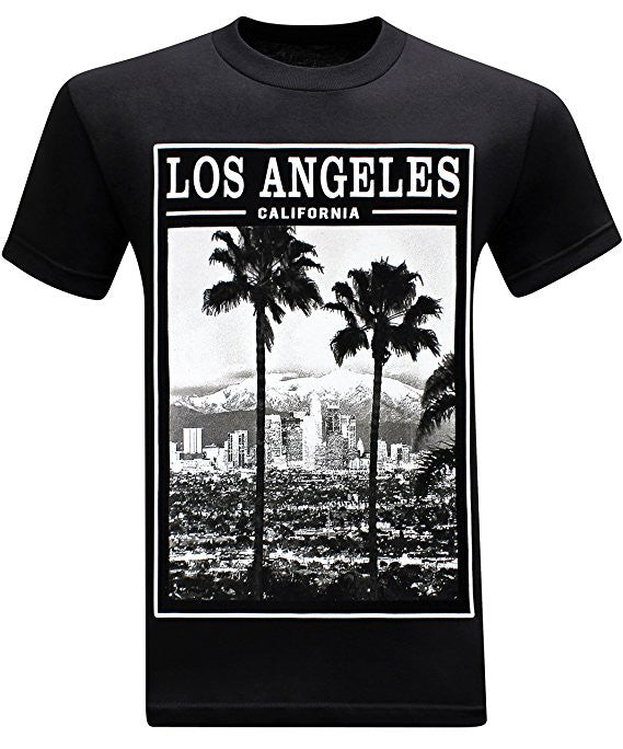 Los Angeles Twin Palms - Black
