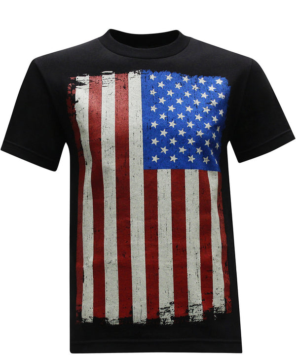 California Republic American Flag Men's T-Shirt - tees geek