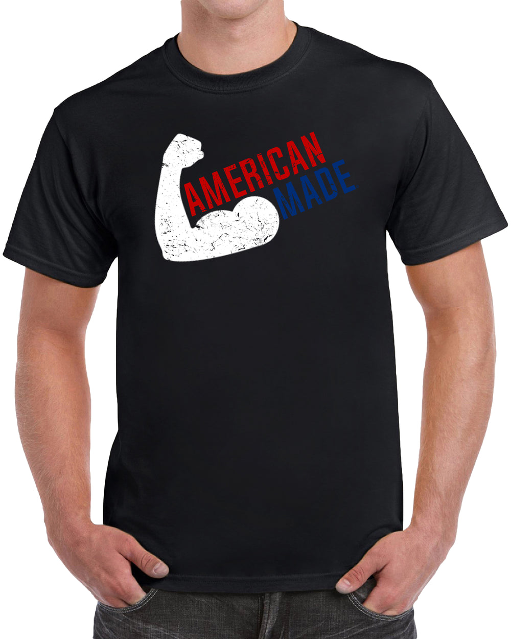 American Made - Distressed Print