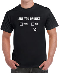 Are You Drunk - Distressed Print