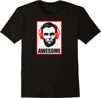 Awesome President Abraham Lincoln - Distressed Print