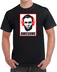 Awesome President Abraham Lincoln - Solid Print
