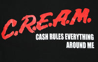 C.R.E.A.M. Cash Rules Everything Around Me Wu Tang Clan Men's T-Shirt - tees geek