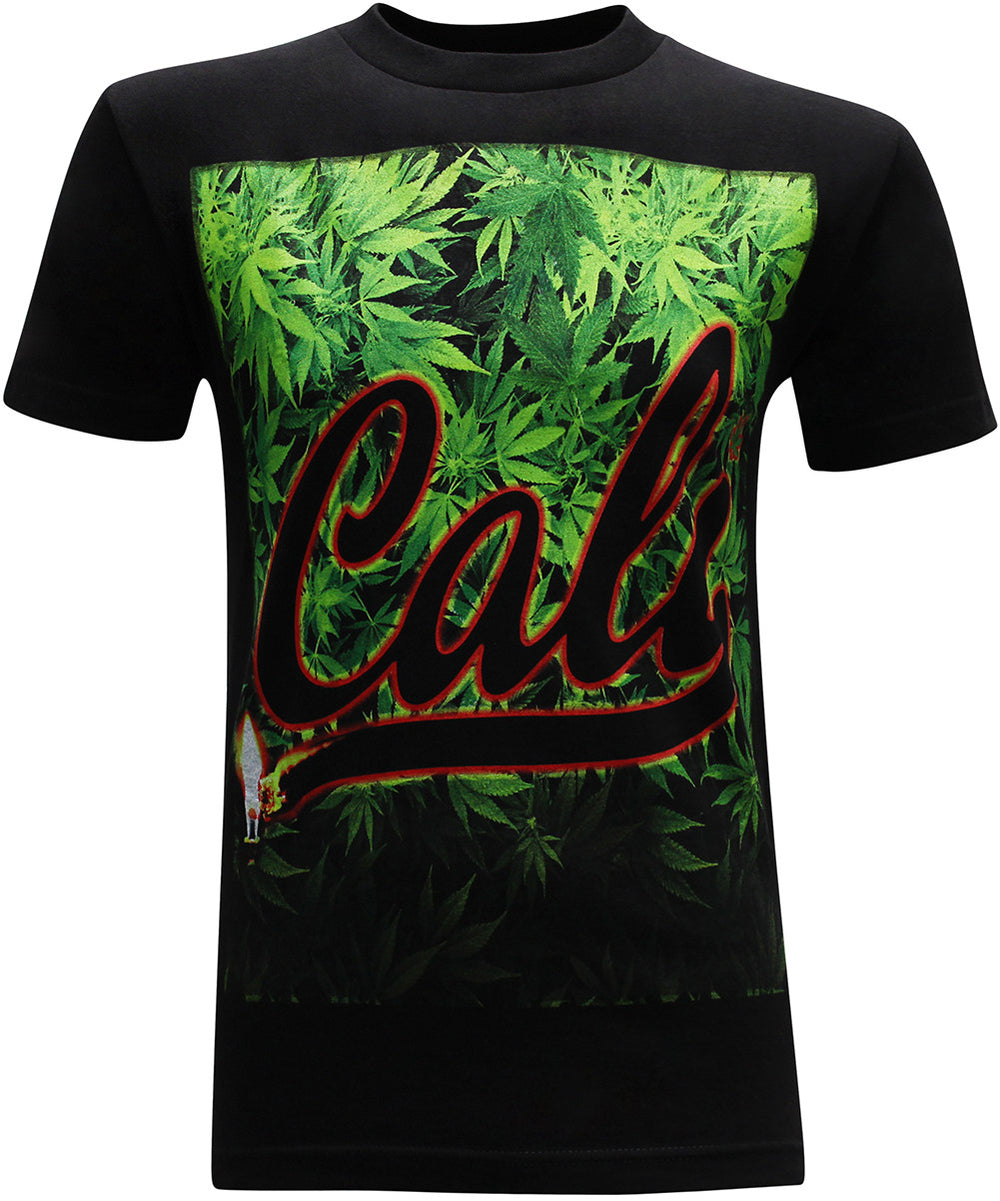 California Republic Cali Forest Men's T-Shirt - tees geek