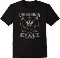 California Republic Wild and Free Established 1850