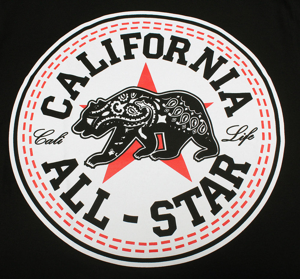 California Republic All-Star Men's T-Shirt - tees geek