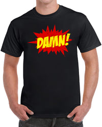 Damn Funny Gift - Distressed Print