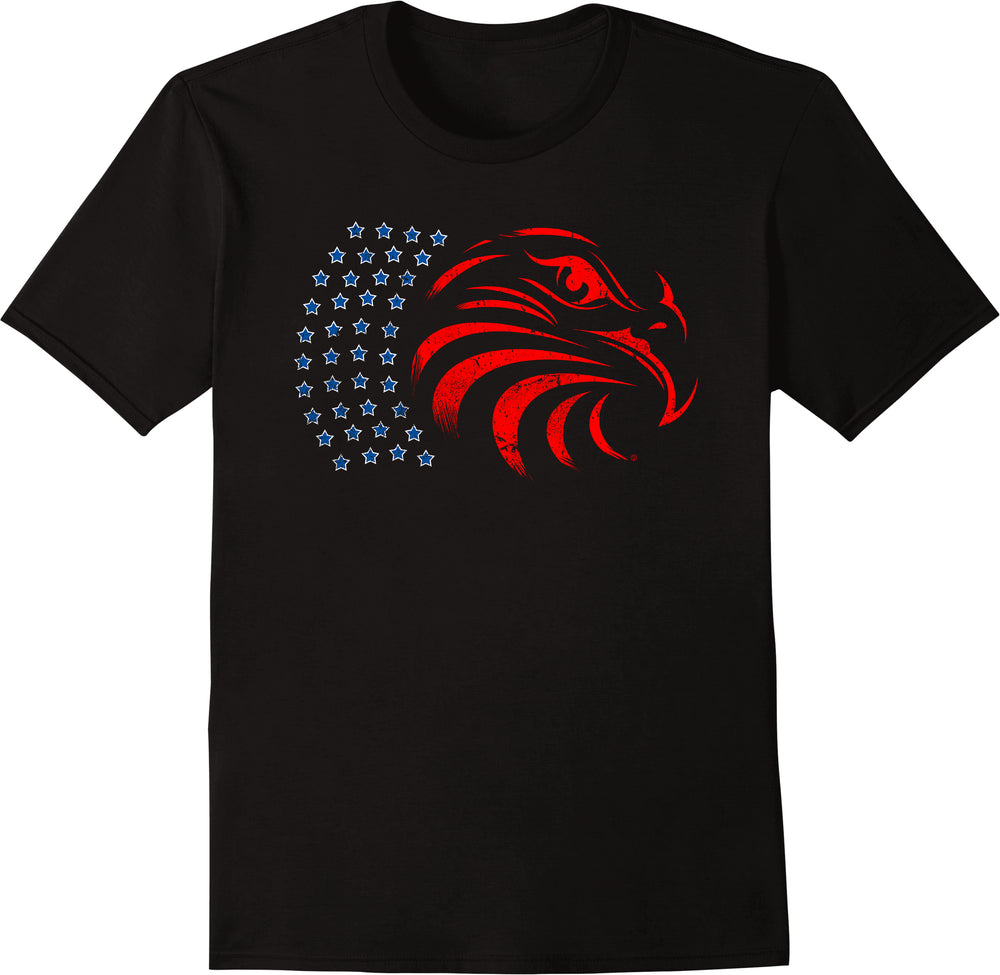 Eagle Flag - Distressed Print