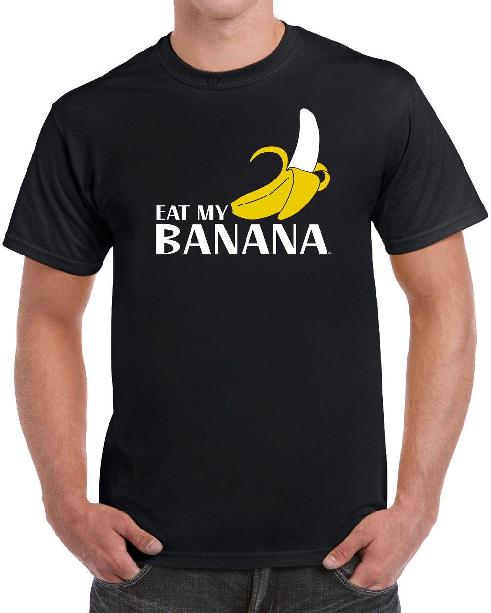 Eat My Banana - Solid Print