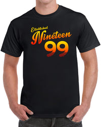 Established Nineteen 99 - Orange Print