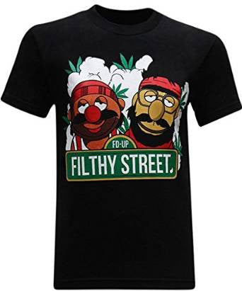 Filthy Street Men's Funny T-Shirt - tees geek