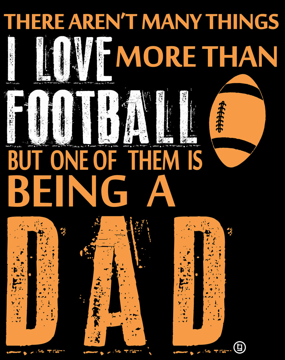 Football Dad I Love Football