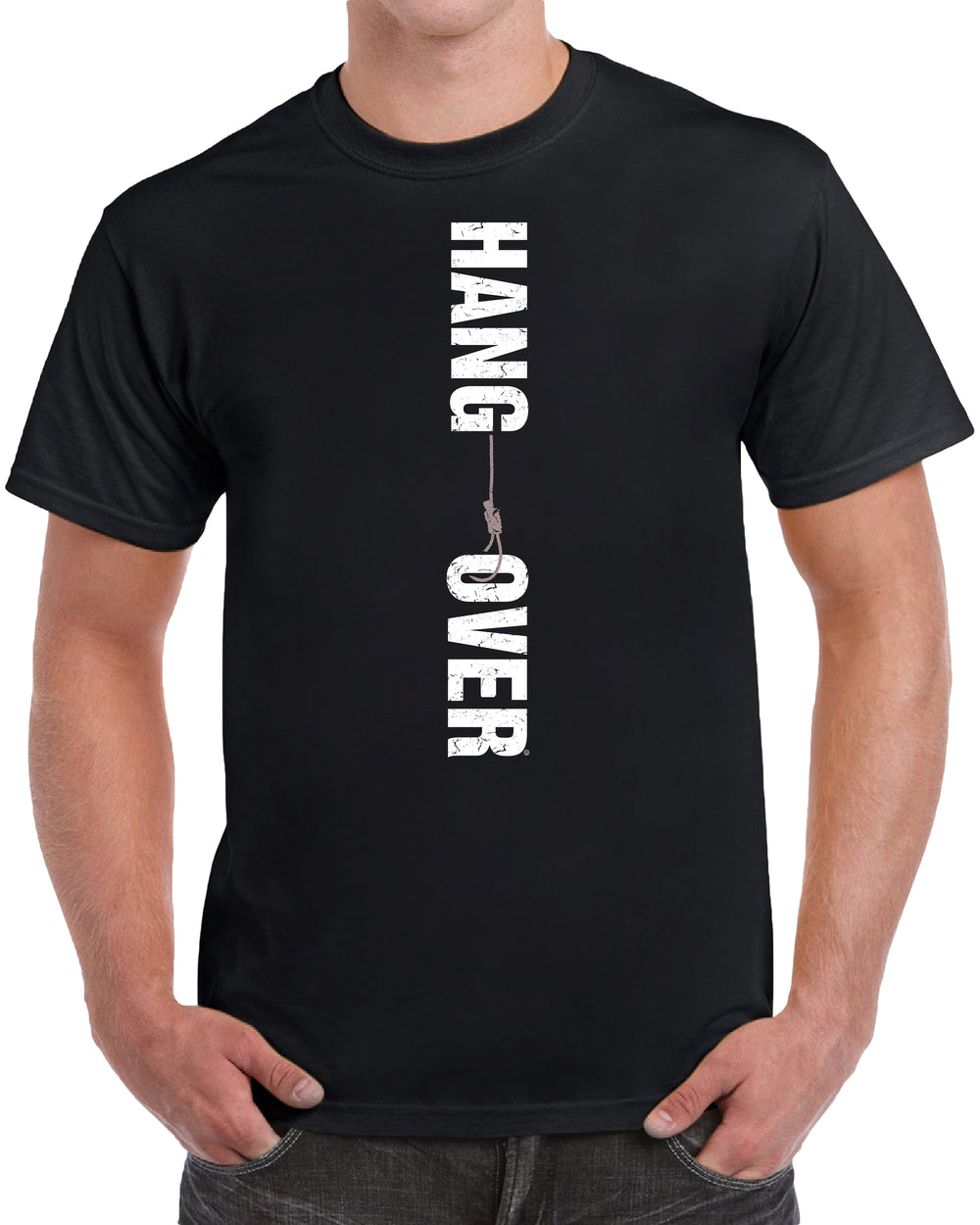 Hang Over - Distressed Print