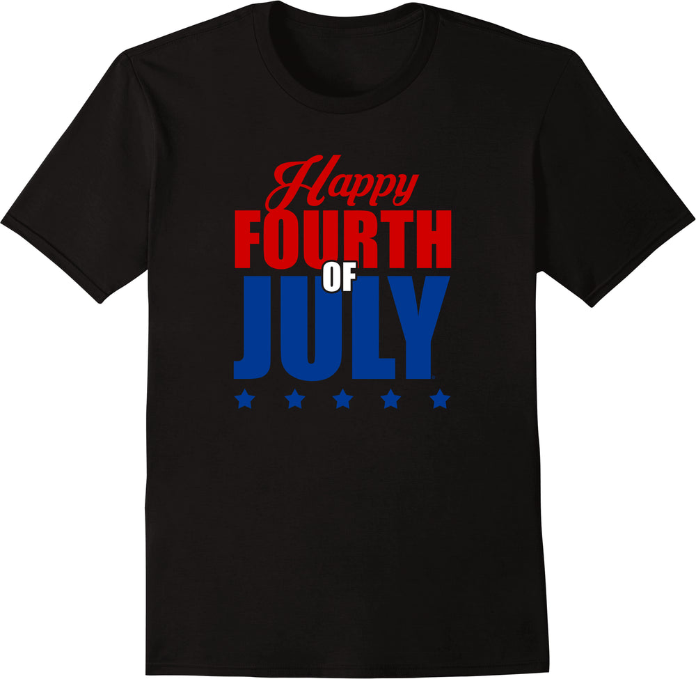 Happy Fourth Of July - Solid Print
