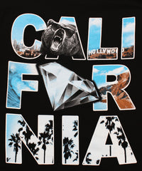 California Republic Hollywood Shine Men's T-Shirt - tees geek