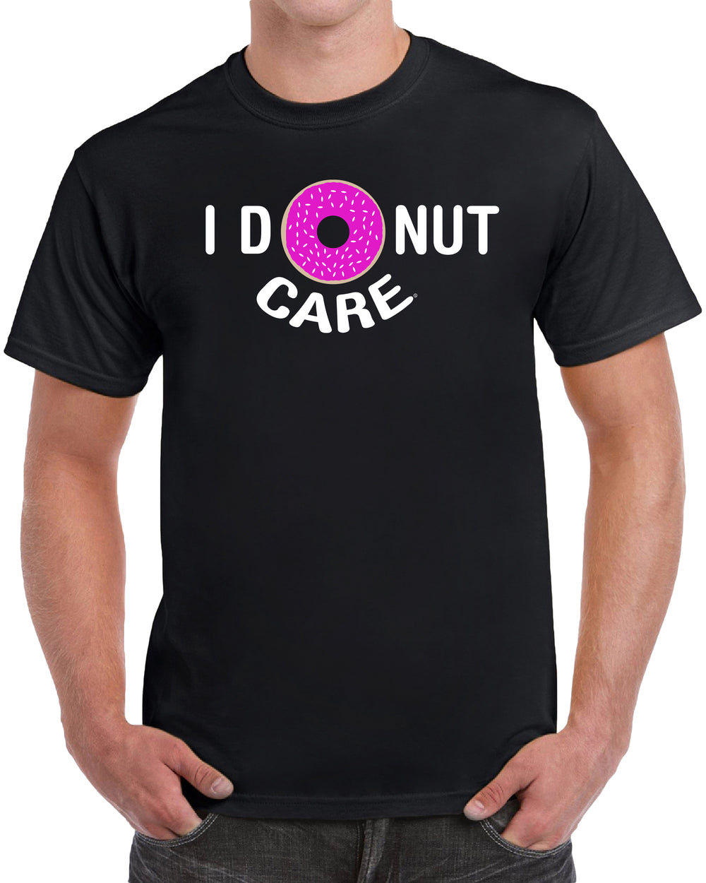 I Donut Care - Solid Print