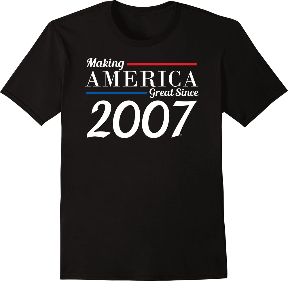 Making America Great Since 2007
