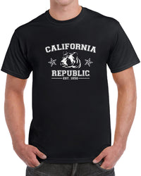 California Republic Vintage Grizzly Bear Established 1850