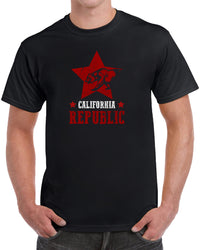 California Republic Star Grizzly Bear