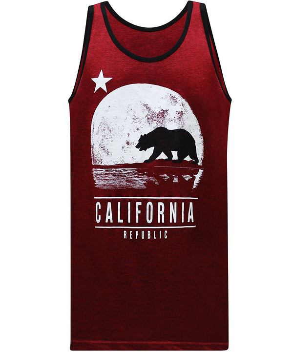 Moonwalk Tank - Cherry