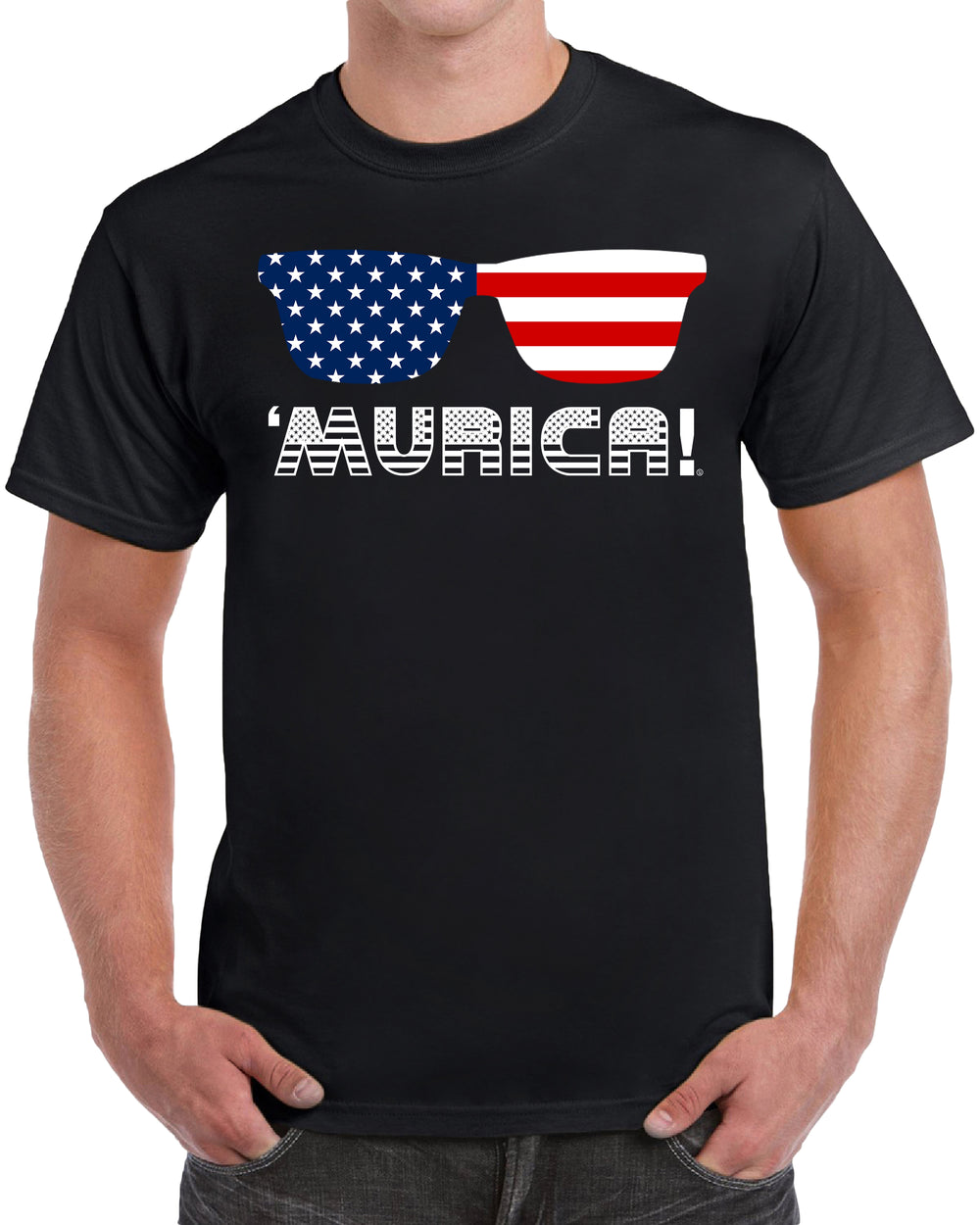 Murica America President's Day Memorial Day - Solid Print