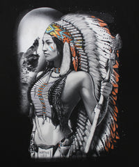 Native American Woman Warrior